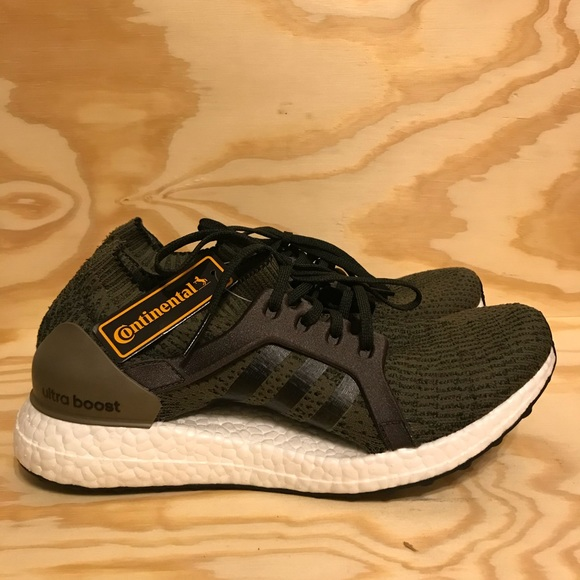 08d46dad6b261 Adidas UltraBOOST X Womens Trace Olive Running
